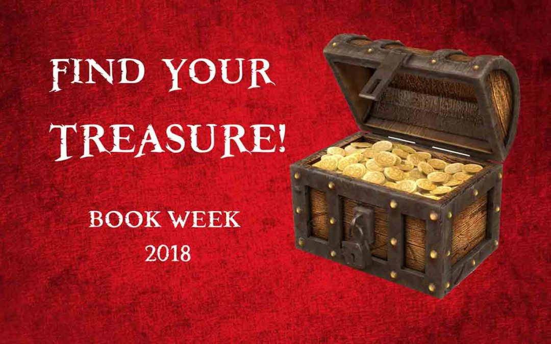 FIND YOUR TREASURE IN BOOKS ABOUT TREASURE HUNTS – BOOK WEEK 2018